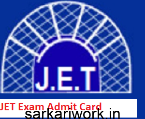 JETadmit card