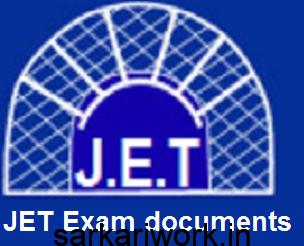 jet exam documents